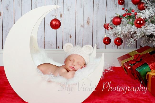 Newborn baby, newborn christmas pic, newborn baby boy