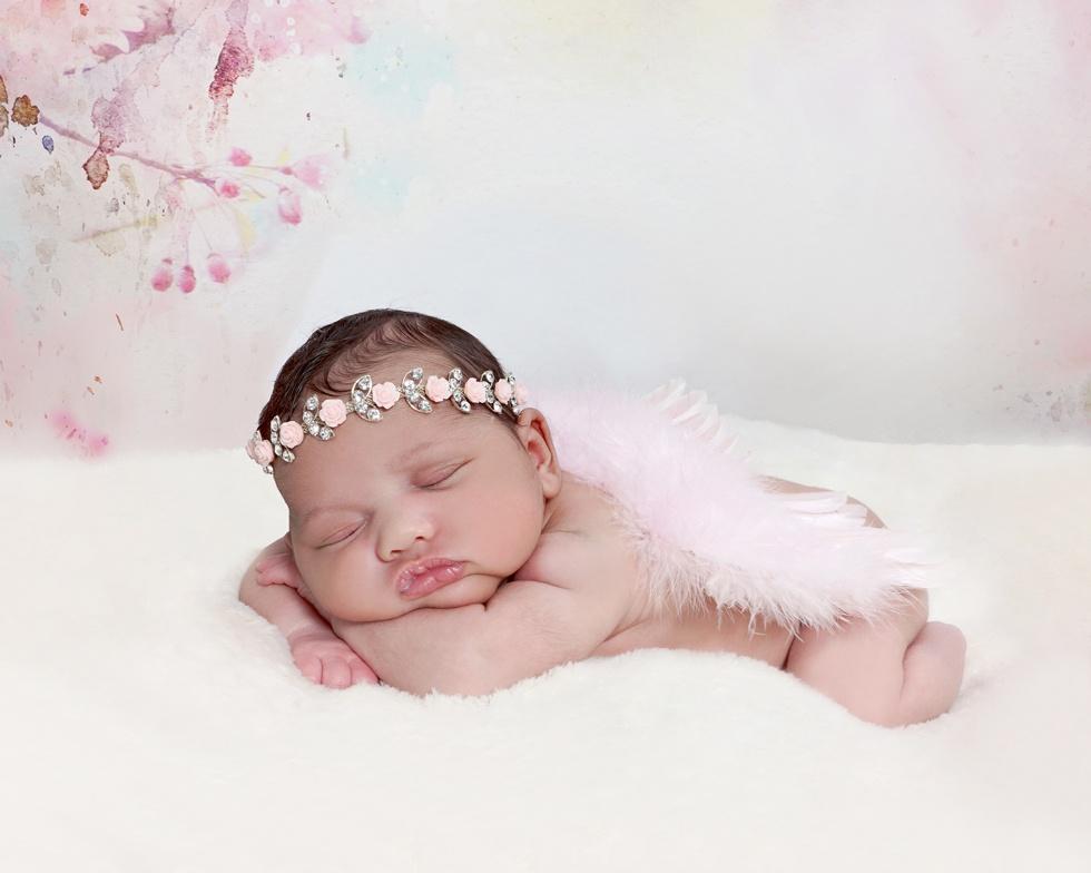 Newborn baby girl, newborn baby photographer