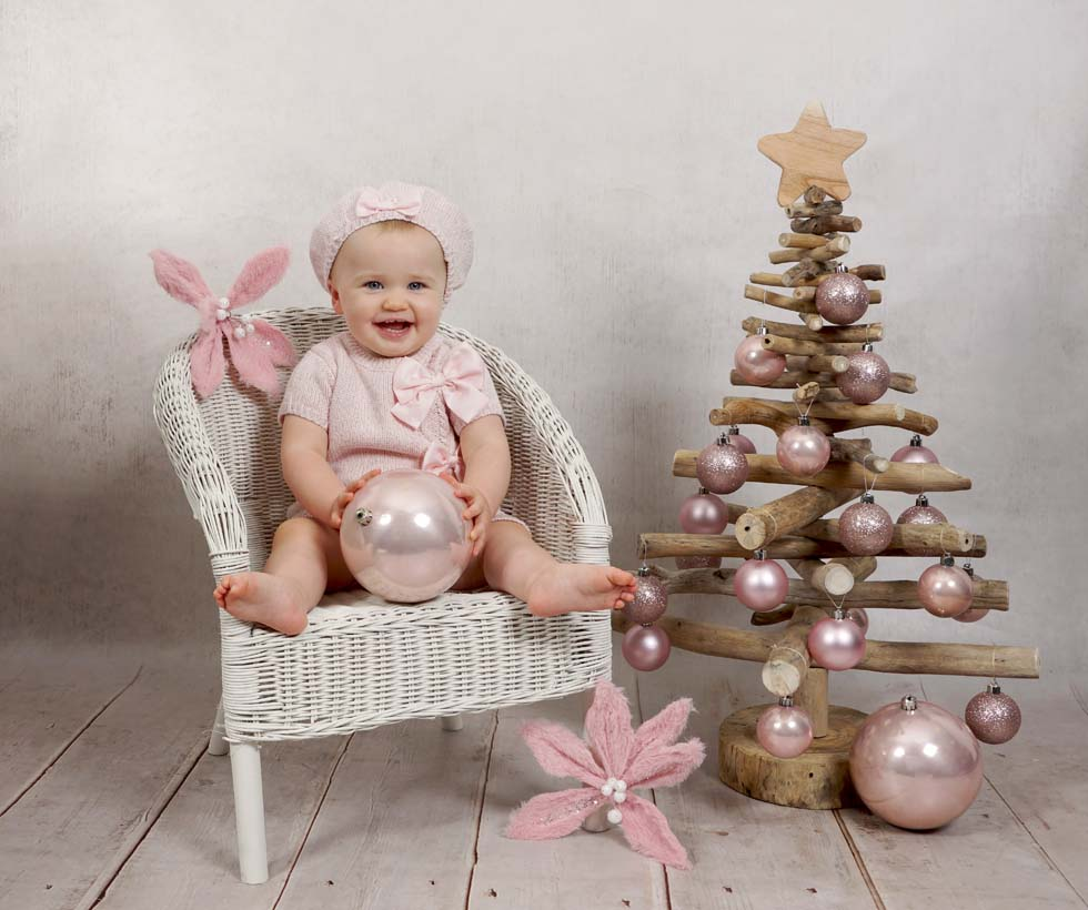 Baby Photo shoot, christmas photo shoot, baby photos, baby photography