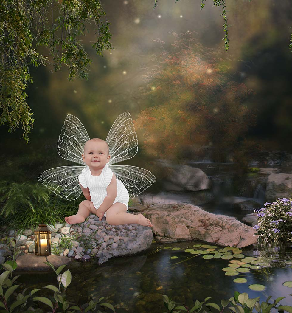 Baby Photography, fairy baby photography, enchanted baby photos, baby photos, baby photographer, baby photoshoot